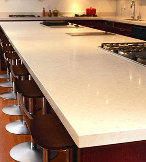 Mister cabinet for Solid surface counters